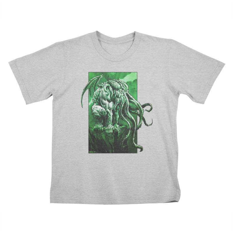 Cthulhu Kids T-Shirt by Ambrose H.H.'s Artist Shop