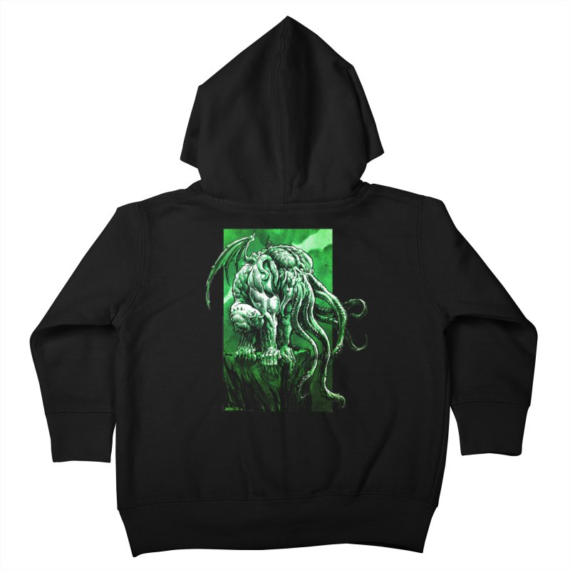 Cthulhu Kids Toddler Zip-Up Hoody by Ambrose H.H.'s Artist Shop