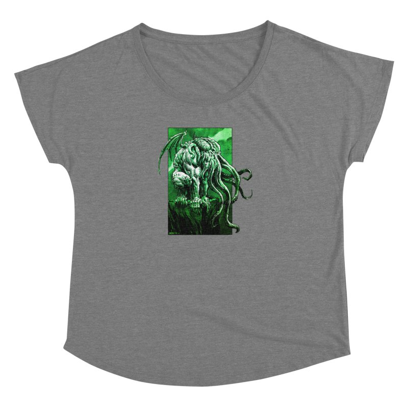 Cthulhu Women's Scoop Neck by Ambrose H.H.'s Artist Shop