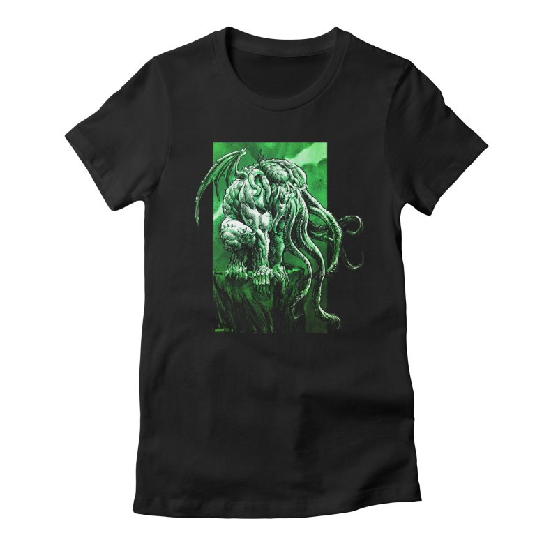 Cthulhu Women's T-Shirt by Ambrose H.H.'s Artist Shop