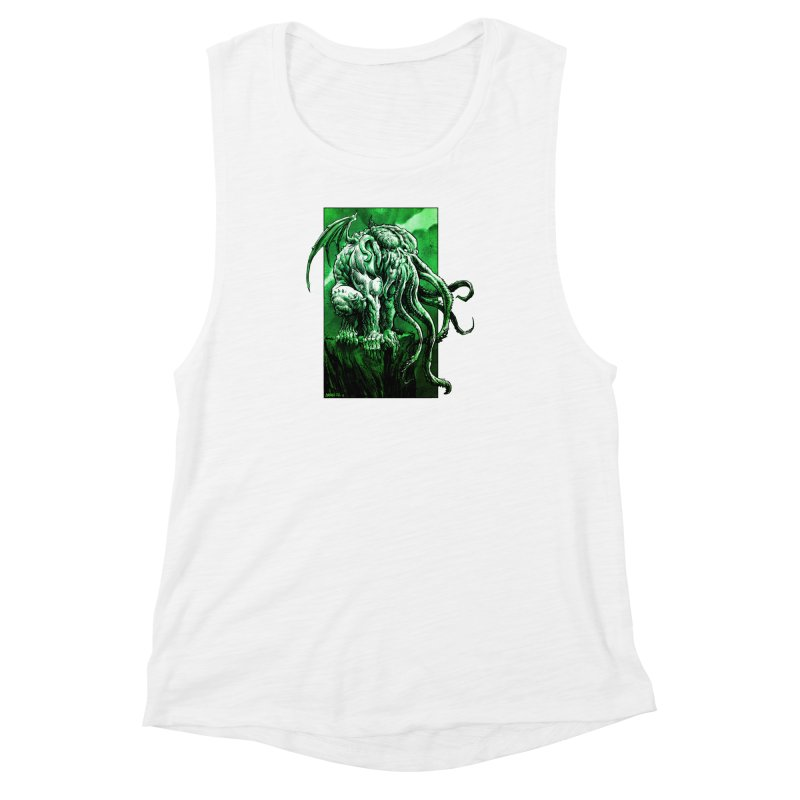 Cthulhu Women's Muscle Tank by Ambrose H.H.'s Artist Shop