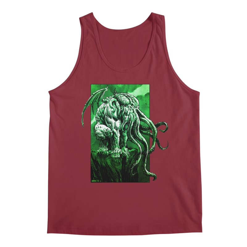 Cthulhu Men's Tank by Ambrose H.H.'s Artist Shop