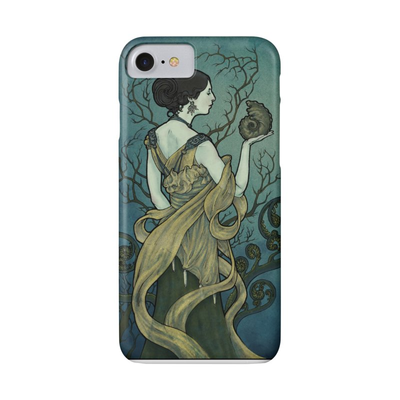 Ammonite Accessories Phone Case by Ambrose H.H.'s Artist Shop