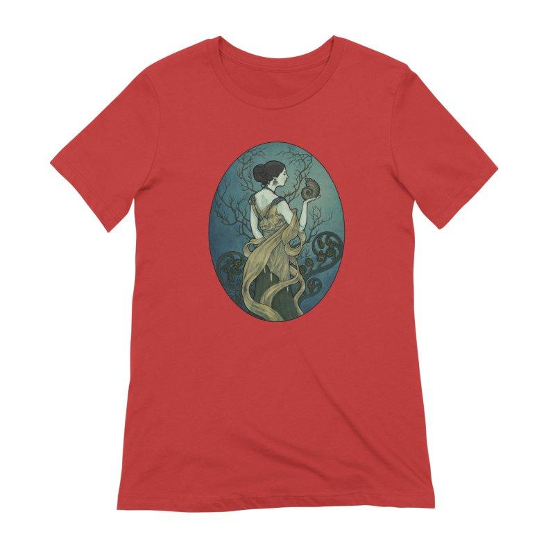 Ammonite Women's T-Shirt by Ambrose H.H.'s Artist Shop