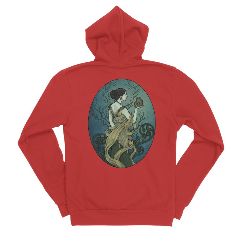 Ammonite Women's Zip-Up Hoody by Ambrose H.H.'s Artist Shop