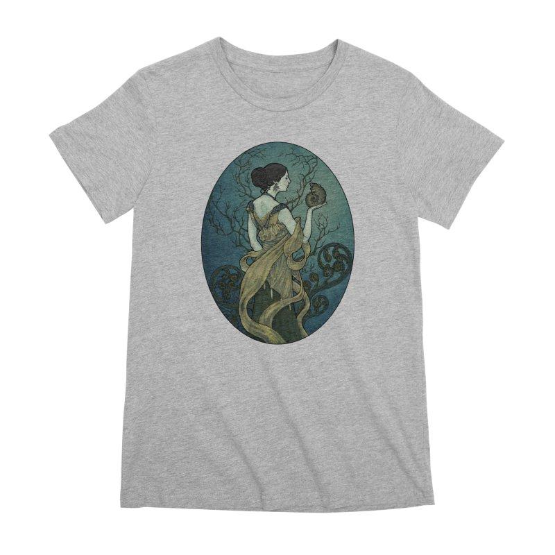 Ammonite Women's Premium T-Shirt by Ambrose H.H.'s Artist Shop