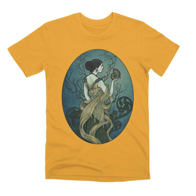 Ammonite Men's Premium T-Shirt by Ambrose H.H.'s Artist Shop