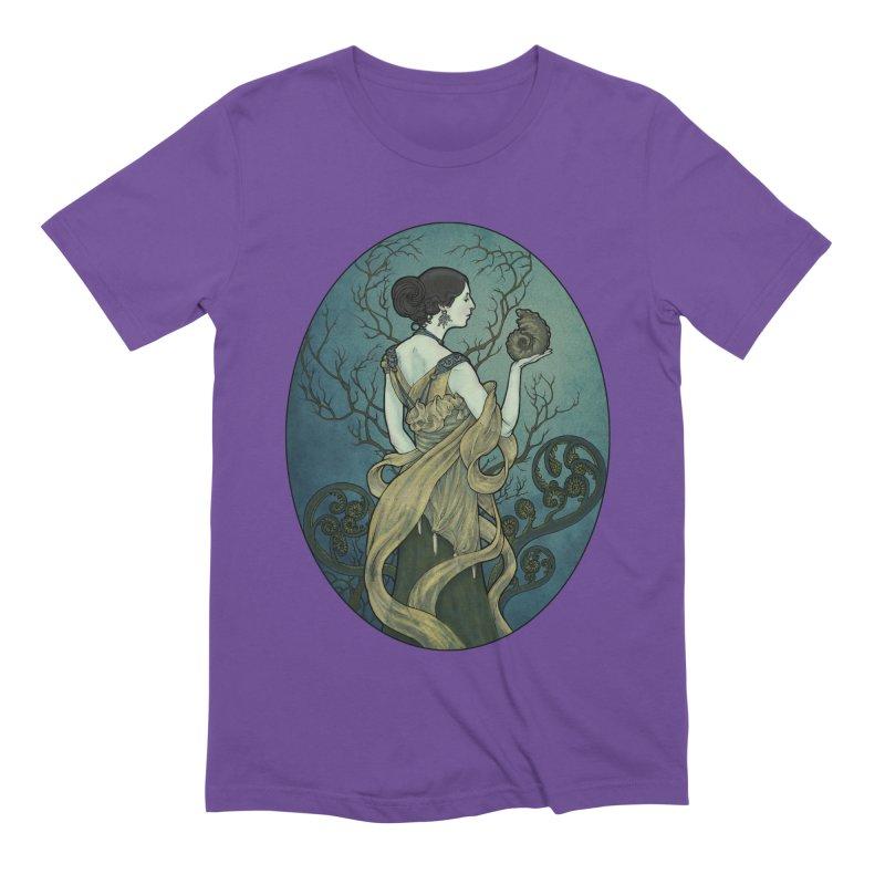 Ammonite Men's Extra Soft T-Shirt by Ambrose H.H.'s Artist Shop