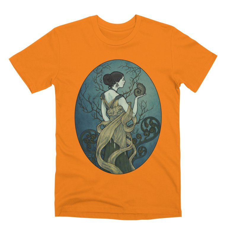 Ammonite Men's T-Shirt by Ambrose H.H.'s Artist Shop