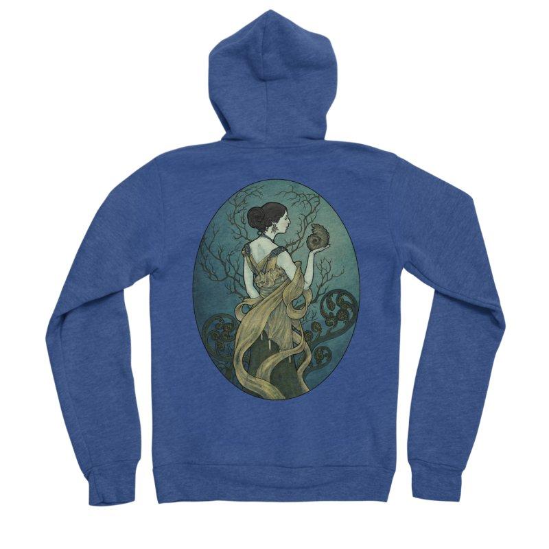 Ammonite Women's Sponge Fleece Zip-Up Hoody by Ambrose H.H.'s Artist Shop
