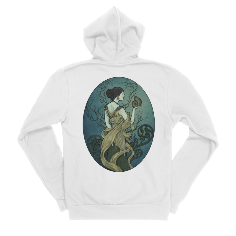 Ammonite Men's Sponge Fleece Zip-Up Hoody by Ambrose H.H.'s Artist Shop