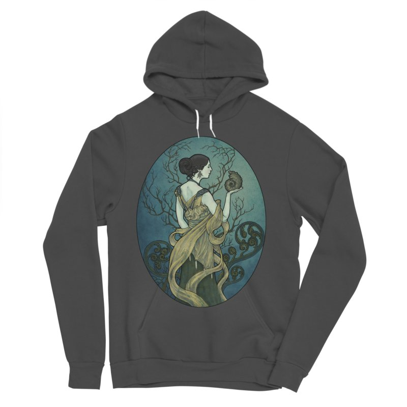 Ammonite Women's Sponge Fleece Pullover Hoody by Ambrose H.H.'s Artist Shop