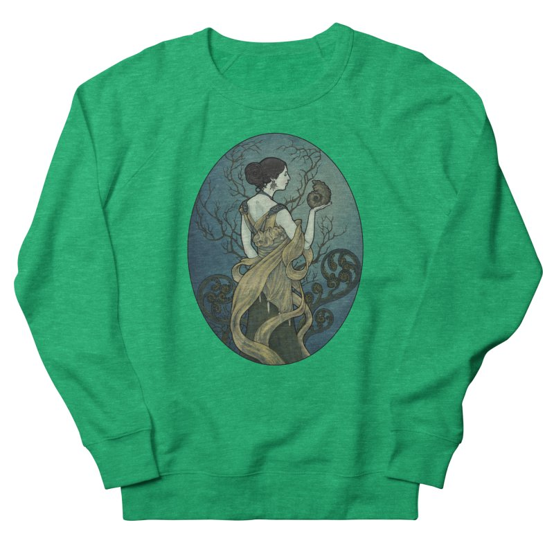 Ammonite Women's Sweatshirt by Ambrose H.H.'s Artist Shop