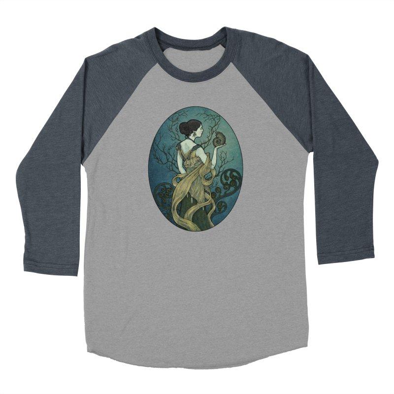 Ammonite Women's Baseball Triblend Longsleeve T-Shirt by Ambrose H.H.'s Artist Shop