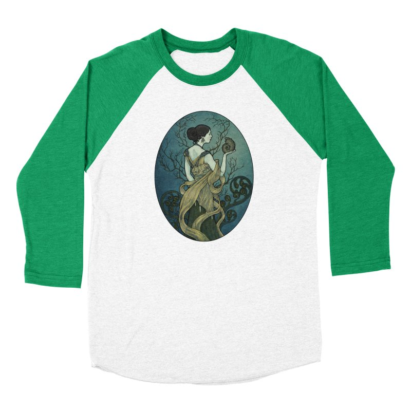 Ammonite Men's Baseball Triblend Longsleeve T-Shirt by Ambrose H.H.'s Artist Shop
