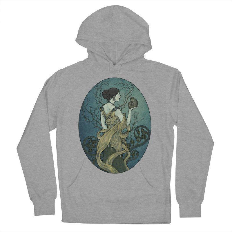 Ammonite Women's French Terry Pullover Hoody by Ambrose H.H.'s Artist Shop