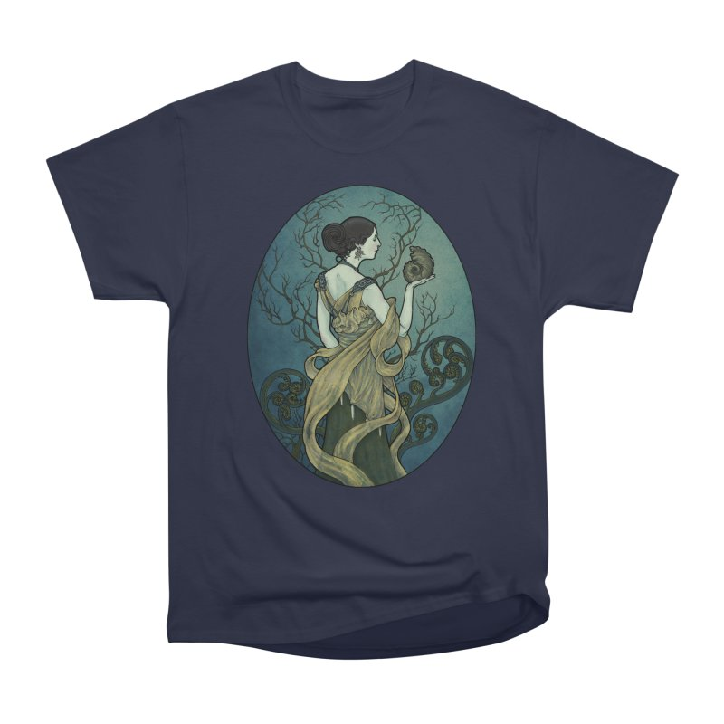 Ammonite Men's Heavyweight T-Shirt by Ambrose H.H.'s Artist Shop