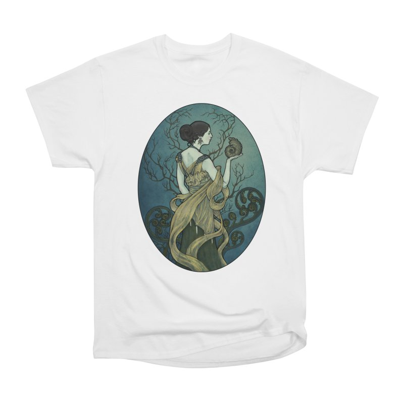 Ammonite Women's Heavyweight Unisex T-Shirt by Ambrose H.H.'s Artist Shop