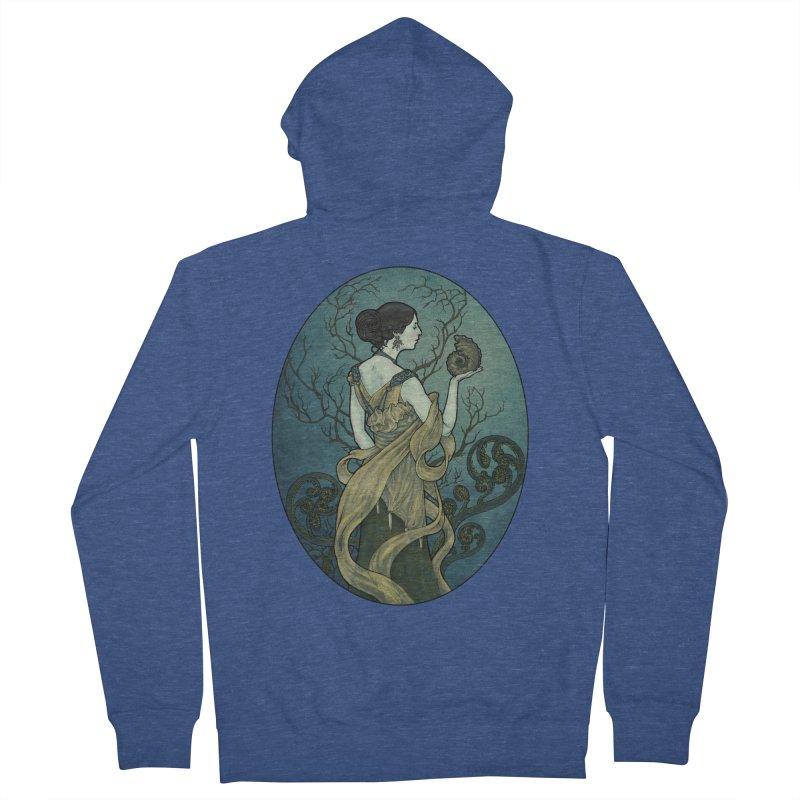 Ammonite Women's Zip-Up Hoody by Ambrose H.H.'s Artist Shop