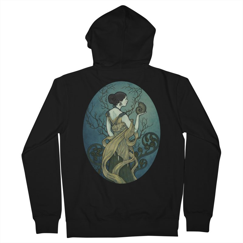 Ammonite Women's French Terry Zip-Up Hoody by Ambrose H.H.'s Artist Shop