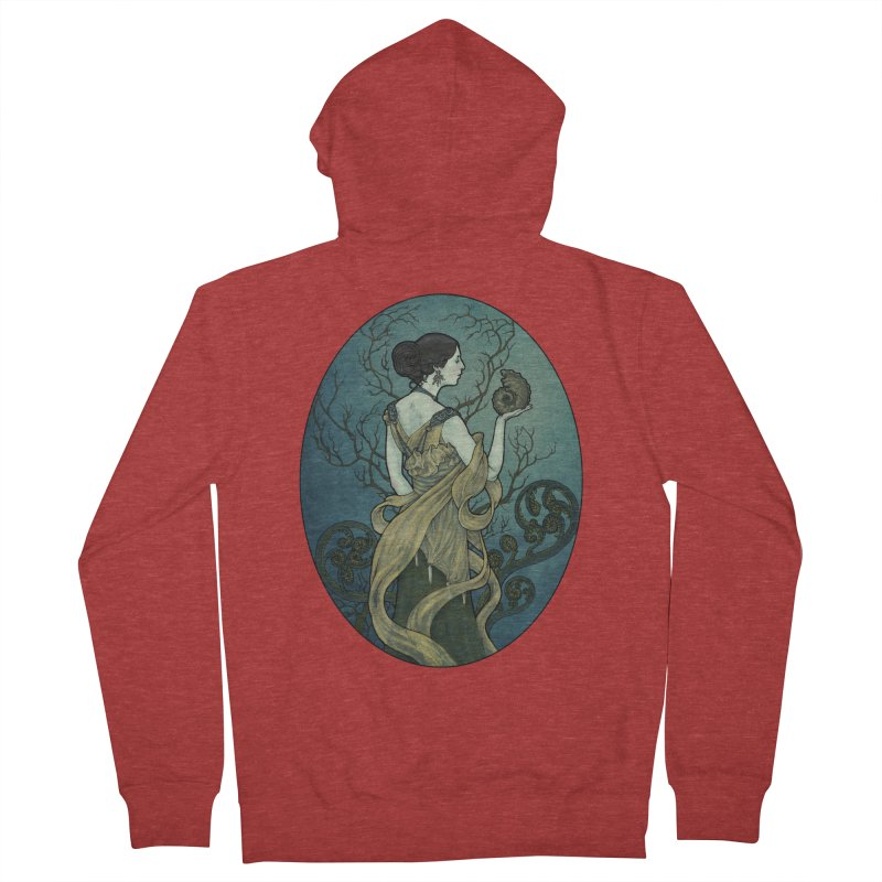 Ammonite Men's French Terry Zip-Up Hoody by Ambrose H.H.'s Artist Shop