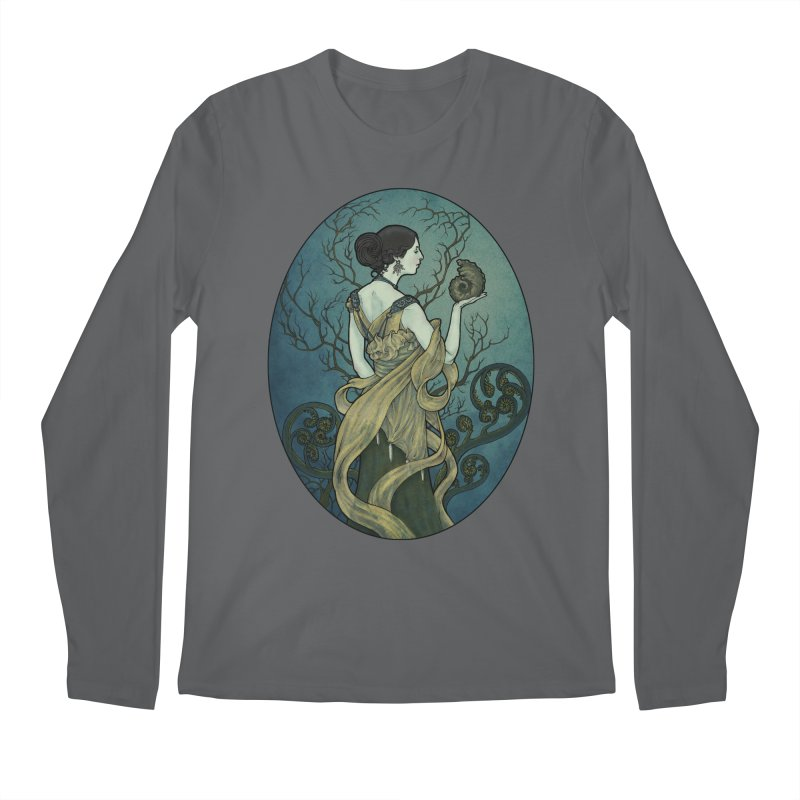 Ammonite Men's Longsleeve T-Shirt by Ambrose H.H.'s Artist Shop