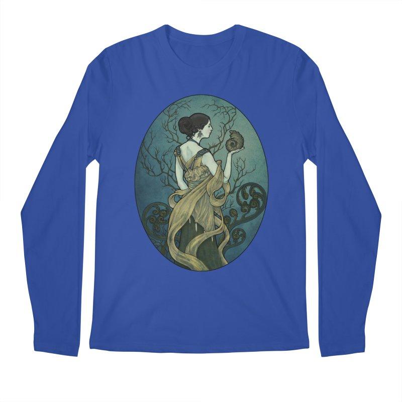 Ammonite Men's Longsleeve T-Shirt by Ambrose H.H.'s Artist Shop