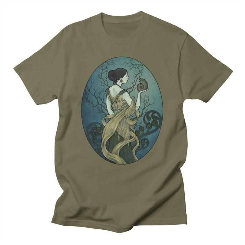 Ammonite Men's T-Shirt by Ambrose H.H.'s Artist Shop