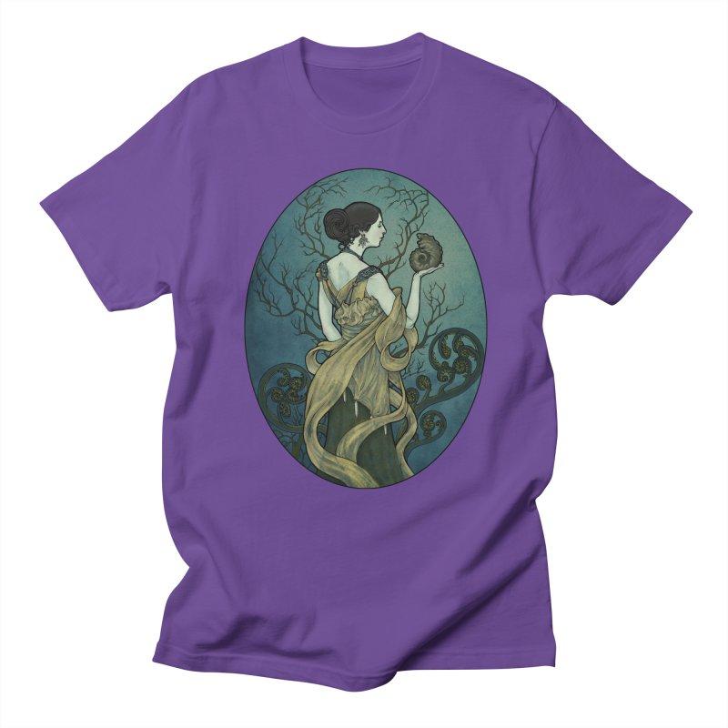 Ammonite Men's Regular T-Shirt by Ambrose H.H.'s Artist Shop
