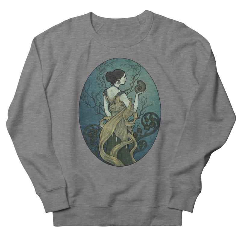 Ammonite Men's Sweatshirt by Ambrose H.H.'s Artist Shop