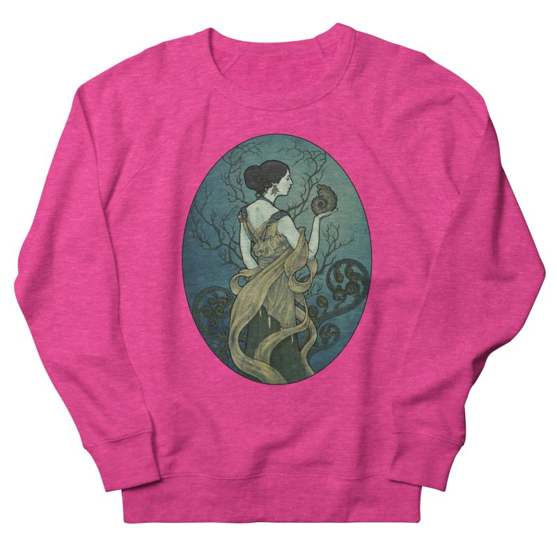Ammonite Men's French Terry Sweatshirt by Ambrose H.H.'s Artist Shop