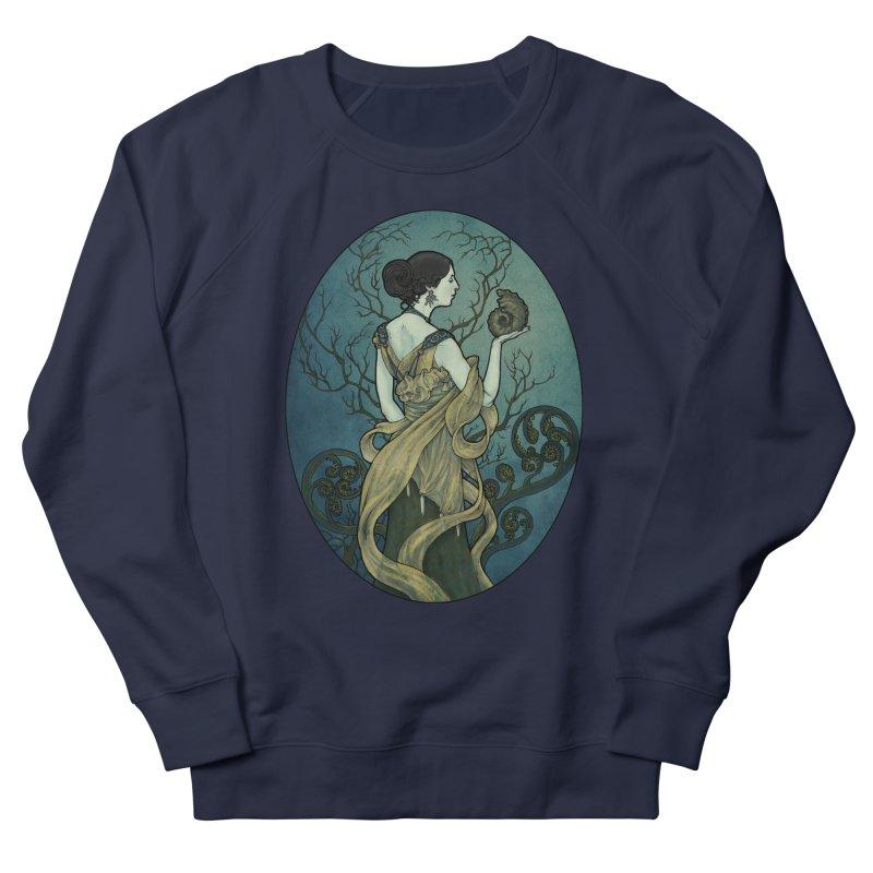 Ammonite Men's French Terry Sweatshirt by Ambrose H.H.'s Artist Shop
