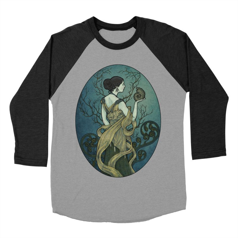 Ammonite Women's Baseball Triblend Longsleeve T-Shirt by Ambrose H.H.'s Artist Shop