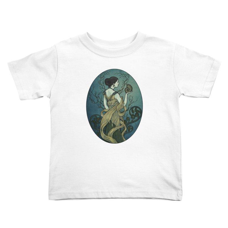 Ammonite Kids Toddler T-Shirt by Ambrose H.H.'s Artist Shop