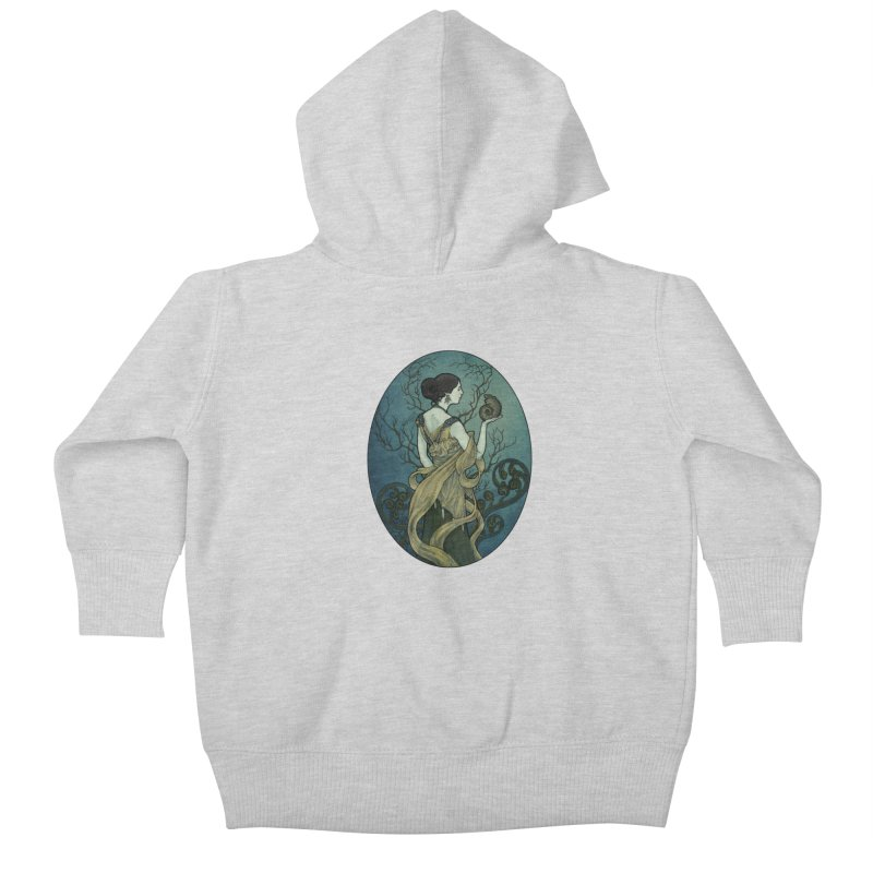 Ammonite Kids Baby Zip-Up Hoody by Ambrose H.H.'s Artist Shop