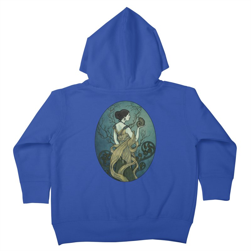 Ammonite Kids Toddler Zip-Up Hoody by Ambrose H.H.'s Artist Shop