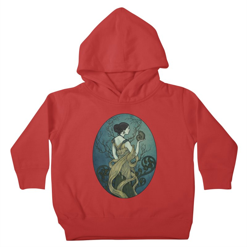 Ammonite Kids Toddler Pullover Hoody by Ambrose H.H.'s Artist Shop