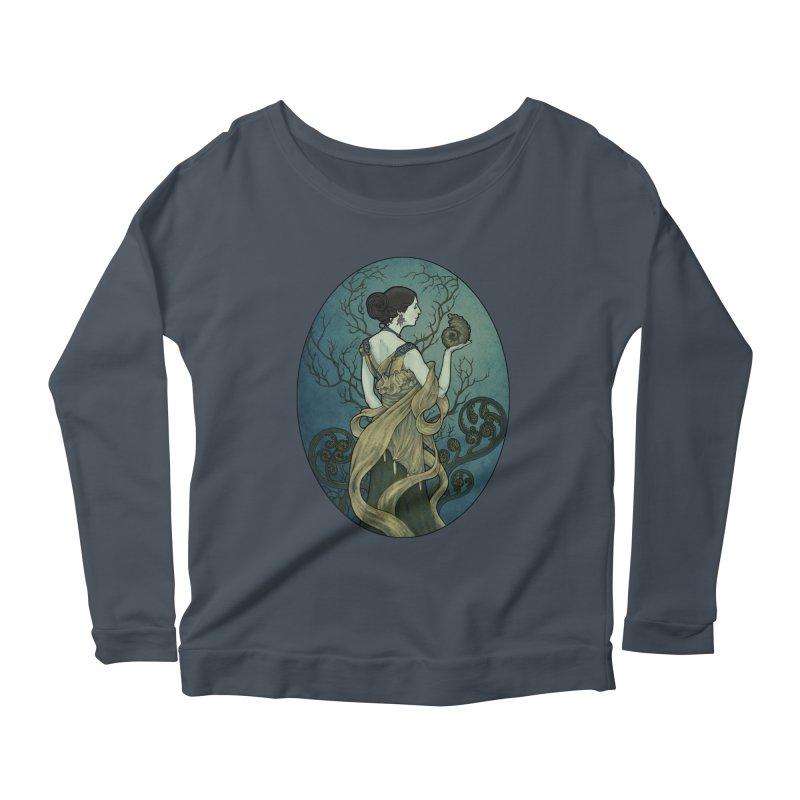 Ammonite Women's Scoop Neck Longsleeve T-Shirt by Ambrose H.H.'s Artist Shop