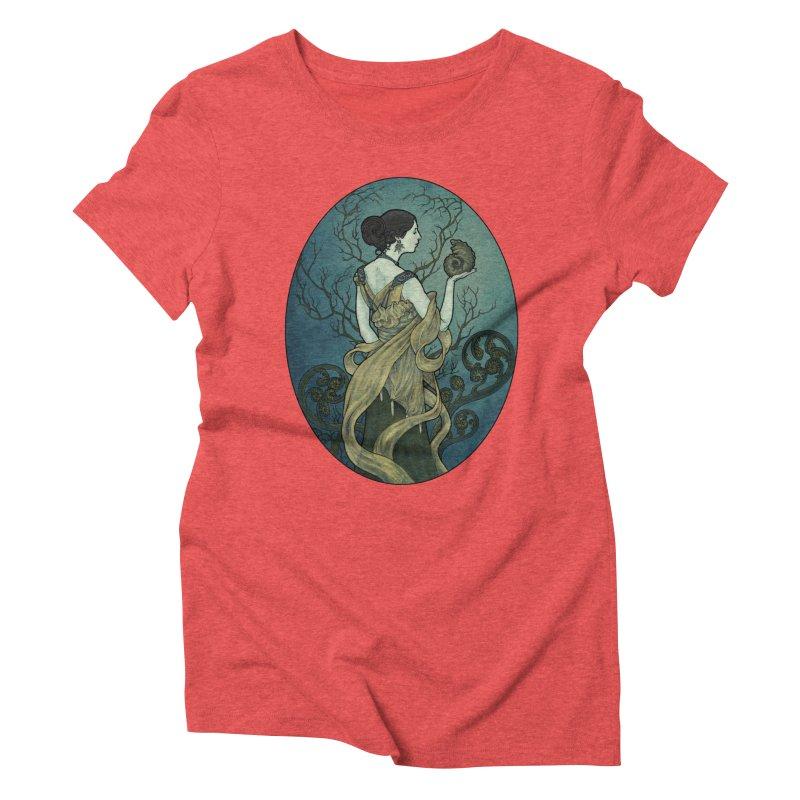 Ammonite Women's Triblend T-Shirt by Ambrose H.H.'s Artist Shop