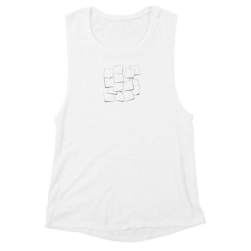Notes to Self Women's Muscle Tank by amchan