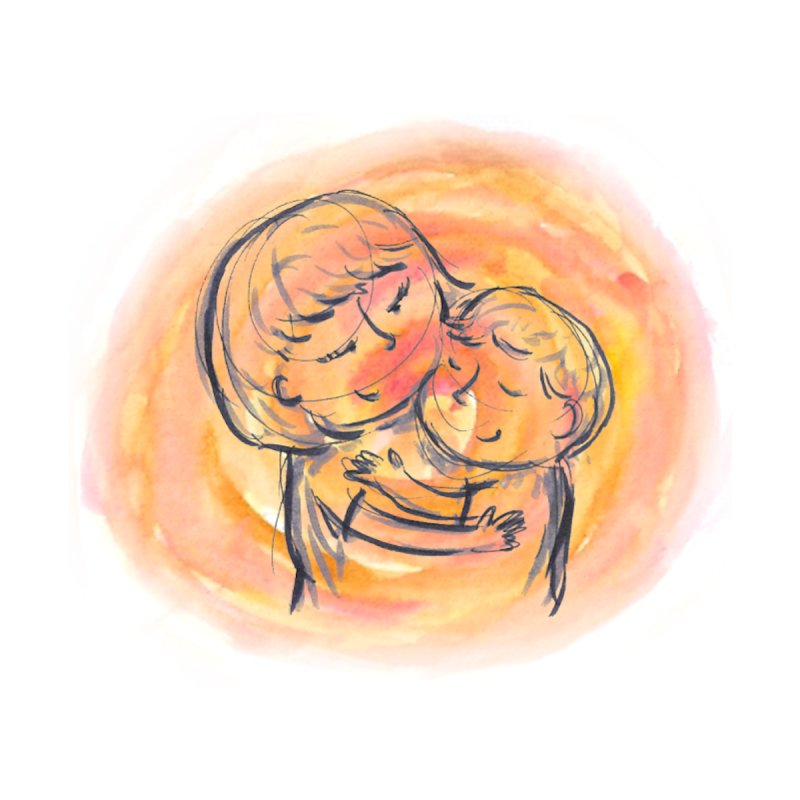 Sunshine hug Men's T-Shirt by Amel's Artist Shop