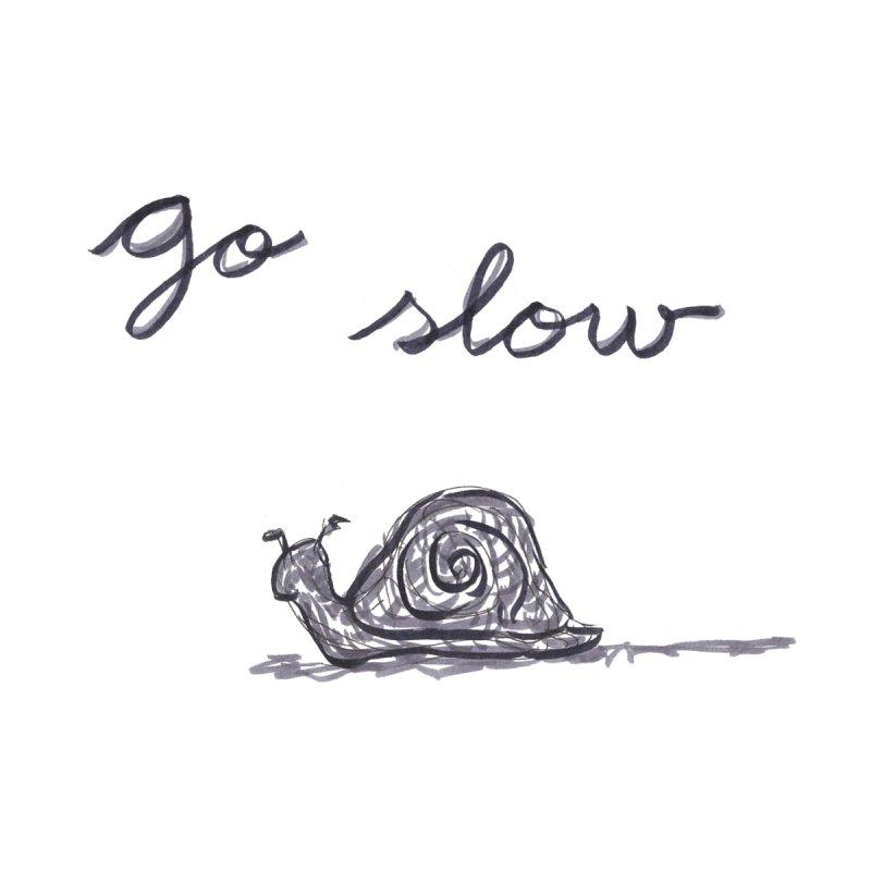 Go Slow Men's T-Shirt by Amel's Artist Shop