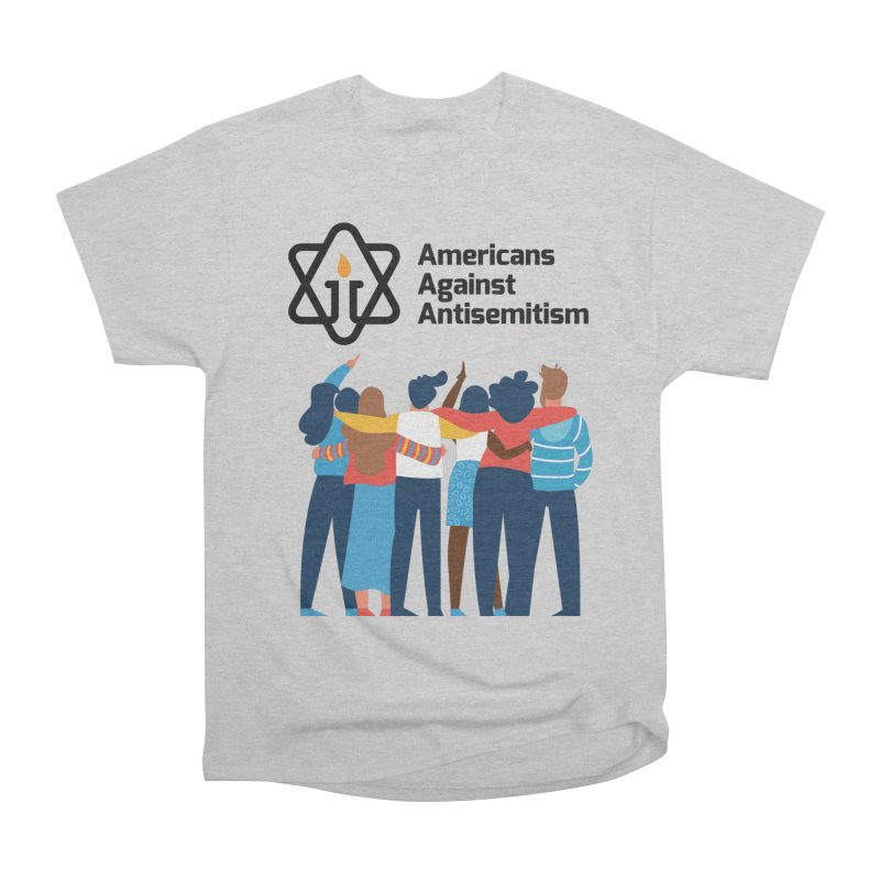 United Against Hate - Americans Against Antisemitism Men's T-Shirt by Americans Against Antisemitism's Artist Shop
