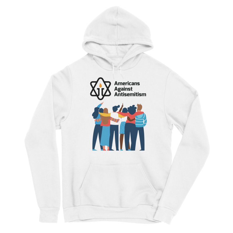 United Against Hate - Americans Against Antisemitism Women's Sponge Fleece Pullover Hoody by Americans Against Antisemitism's Artist Shop