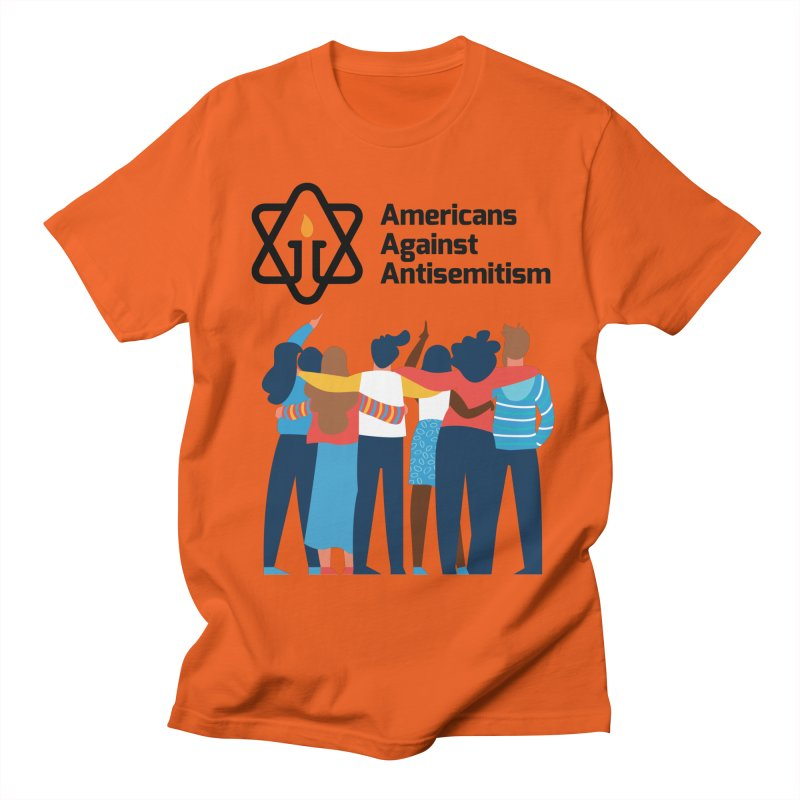 United Against Hate - Americans Against Antisemitism Women's Regular Unisex T-Shirt by Americans Against Antisemitism's Artist Shop