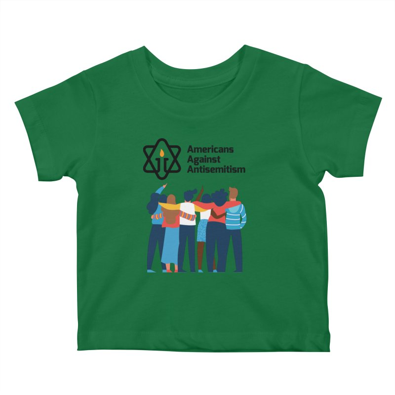 United Against Hate - Americans Against Antisemitism Kids Baby T-Shirt by Americans Against Antisemitism's Artist Shop