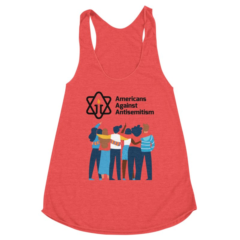 United Against Hate - Americans Against Antisemitism Women's Tank by Americans Against Antisemitism's Artist Shop