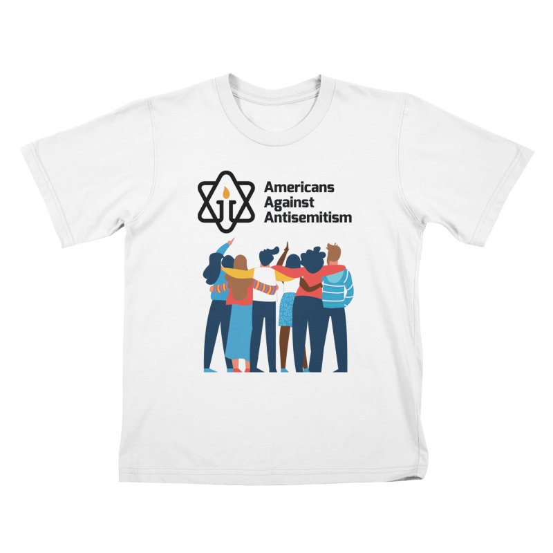 United Against Hate - Americans Against Antisemitism Kids T-Shirt by Americans Against Antisemitism's Artist Shop