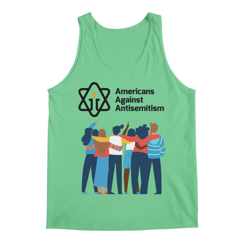United Against Hate - Americans Against Antisemitism Men's Regular Tank by Americans Against Antisemitism's Artist Shop