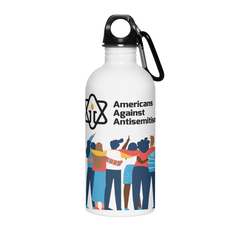 United Against Hate - Americans Against Antisemitism Accessories Water Bottle by Americans Against Antisemitism's Artist Shop